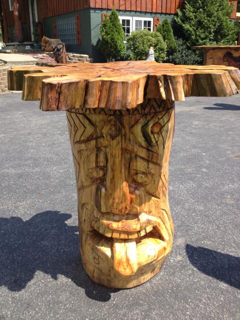 Chainsaw artists art sculptures